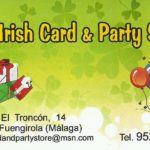Irish card and party shop Fuengirola