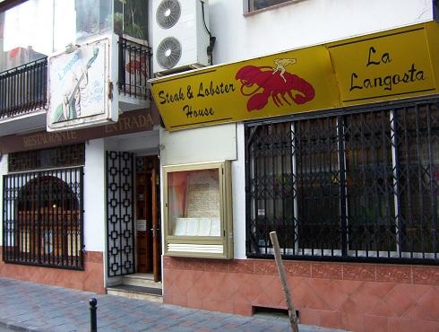 La langosta restaurant fuengirola webcam